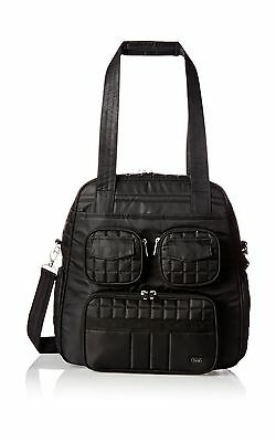 Lug Puddle Jumper Overnight/Gym Bag Midnight Black
