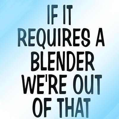 IF IT REQUIRES A BLENDER WE'RE OUT OF THAT - 1 Pin, bartender, server, hooters