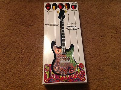 Rolling Stones Ruby Tuesday Guitar Musical Ornament CVS Exclusive BNIB Collect!