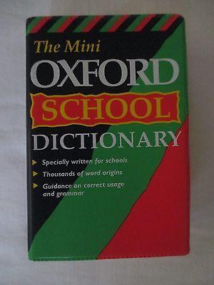 Mini Oxford School Dictionary - 1988 Edition