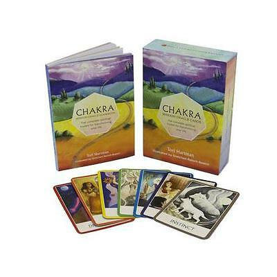 Chakra Wisdom Oracle Cards: The Complete Spiritual Toolkit for Transforming...