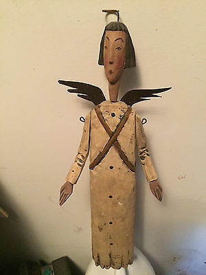 Old Primitive Angel Doll