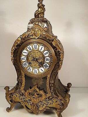 Antique French Boulle Bracket Clock for Restoration