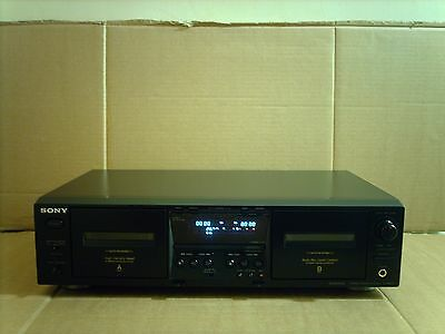 Sony TC-WE475 Twin Cassette Deck Player Recorder Hi Fi Separate