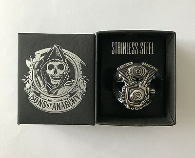 Sons of Anarchy: Men of Mayhem Ring - Size 12 - Official Merchandise