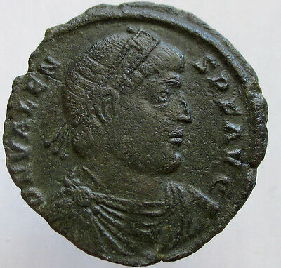 VALENS, 364-378, AE 1/ Doppel maiorina, VERY RARE; Missing from most collections