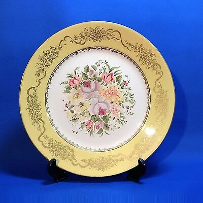 "Antique ROYAL ART POTTERY - CABINET PLATE (10"") Handpainted & Signed MAUDE BEALE"