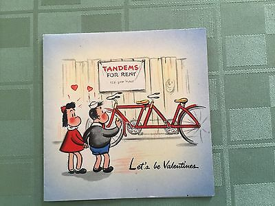 Little Lulu Vintage Hallmark Valentines Day Greeting Card, 1946, Unused Ex. Cond