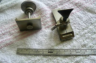 watchmakers -jewelers lathe 8mm complete tip over tool rest