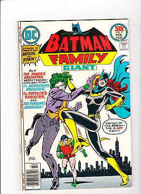 Batman Family #9 - 9.4 - White Pages - First Joker's Daughter