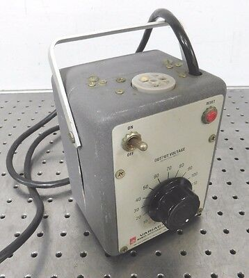 C140758 General Radio W5MT3 Variac Variable Autotransformer (Out: 0-140VAC, 5A)