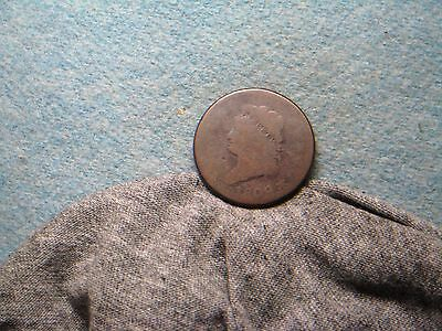 1809 Large Cent!! KEY DATE! Uncleaned, Should Slab! Tough Coin! (149)