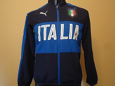Italy Italia Official Licensed Puma Jacket Boys Xl 16/17 New