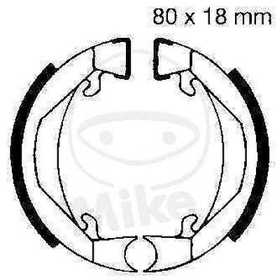 EBC Brake Shoes Brake Shoe H322 Front Rear Puch Maxi 25 S Sport NEW