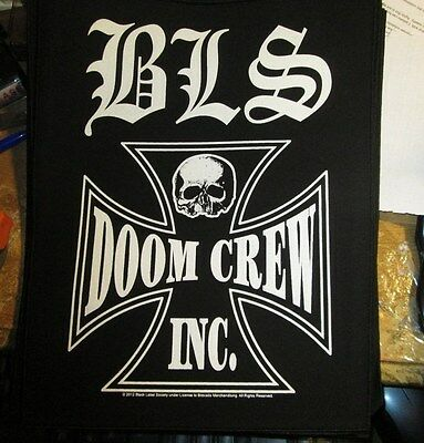 Black Label Society Collectable Rare Vintage Backpatch Back Patch 2012