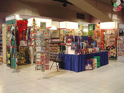 Booth Fixture Display 10ft x 20ft x 8ft