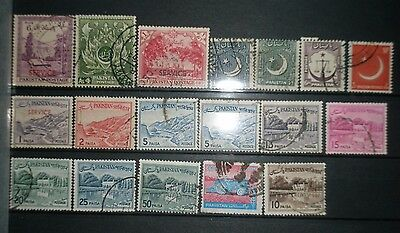 Small lot of stamps from Pakistan