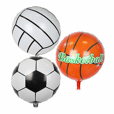 45.7cm Basketball Volleyball Fußball Form Folien Ballon Sport Party Dekoration