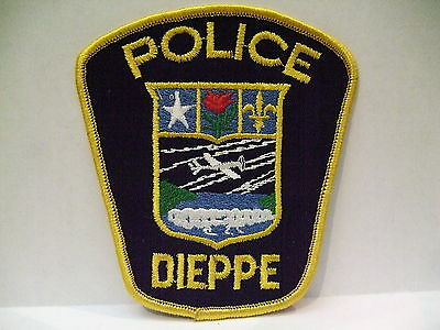 police patch  DIEPPE POLICE NEW BRUNSWICK CANADA