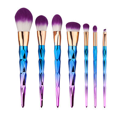 7Pcs Makeup Cosmetic Brushes Set Eye Powder Foundation Eyeshadow Lip Brush Tool