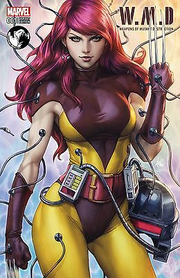 weapons of mutant destruction 1 Artgerm Unknown Comics Variant (6/21) Mary Jane