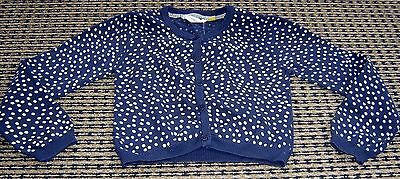 The Kidstore Girls Cotton  Cardigan Sz  7