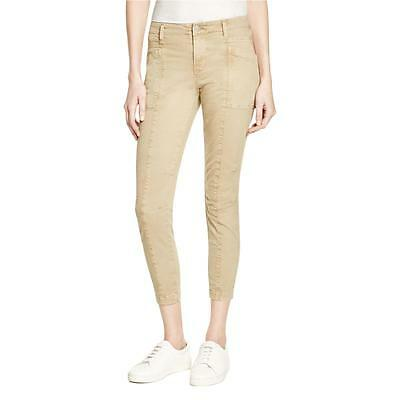 J Brand 8056 Womens Byrnes  Tan Skinny Mid-Rise Colored Cargo Jeans 30 BHFO
