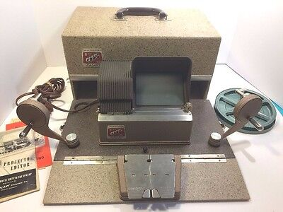 CRAIG  KE-16 Projecto - Editor for 8mm Film by KALART with Case