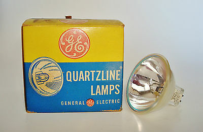 New Old Stock Projector QUARTZLINE Lamp Bulb General Electric GE EJM 150W 21V