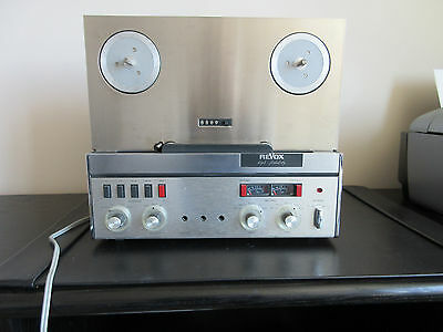 Vintage REVOX A77 Reel to Reel Tape Recorder