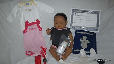 RealCare Baby Think It Over Doll G6 Gen 6 Hispanic Mexican Girl Female + Extras