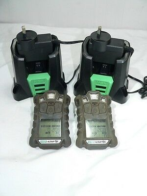 e/  Two MSA Altair 4x Personal Gas Monitors