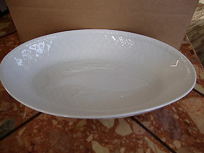 Royal Worcester gourmet oven china oval fish pattern dish