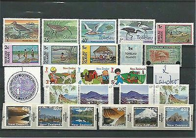 10.920/ Lot / Mixture ** MNH alle Welt / Neusseland