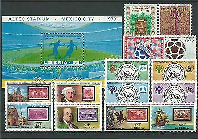 11.113/ Lot / Mixture ** MNH Libera mit Block