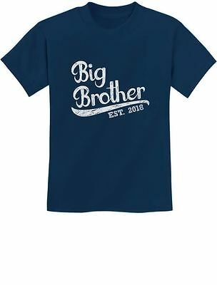 Gift for Big Brother 2018 Youth Kids T-Shirt Boys Newnorn Matching Tee Cute