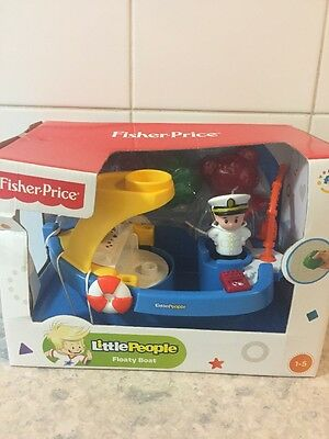 Fisher Price Little People Floaty Boat New In Box