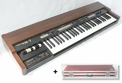 ROLAND VK-7 Combo Organ Orgel_Virtual ToneWheel + 39 Voices_LCD_MIDI_mit CASE_1A