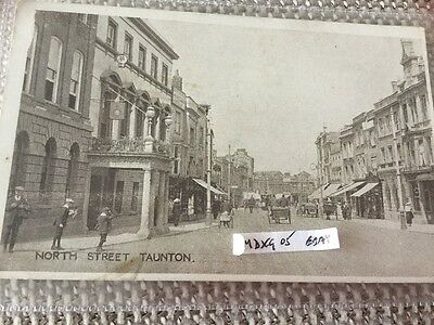 North Street Taunton Somerset Castle Hotel Shops Pony Traps Etc