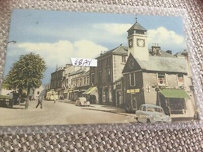 Lively 1968 Colur Card High St Moffat Shops Standard Car Bus Etc