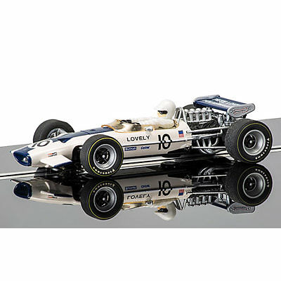 SCALEXTRIC Slot Car C3707 Lotus 49 Pete Lovely