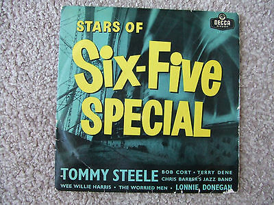 Very Rare Stars Of Six-Five Special 10 Inch Vinyl Lp - Tommy Steel Terry Dene