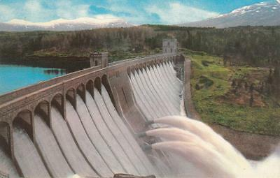 Colour Photo Postcard - The Laggan Dam (Highlands)