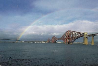 Colour Photo Postcard - The Forth Bridges (Lothian)