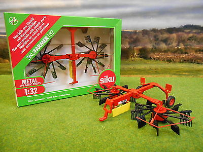 Siku Farm Fella Whirl Rake 2451 1/32 *boxed & New*