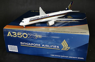 Singapore Airlines Airbus A350-900 XWB  JC Wings 1:200 Diecast models   XX2229