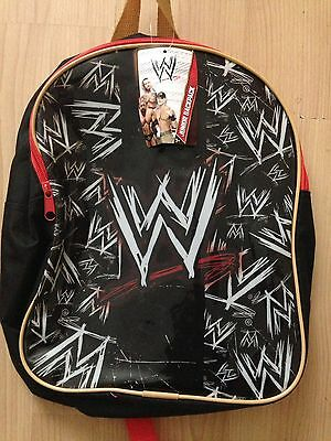 WWE Wrestling Rucksack/backpack Brand New And Tagged