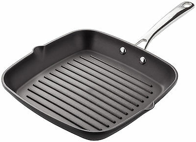 Stellar Cast Iron Griddle Pan 26cm Non Stick Induction