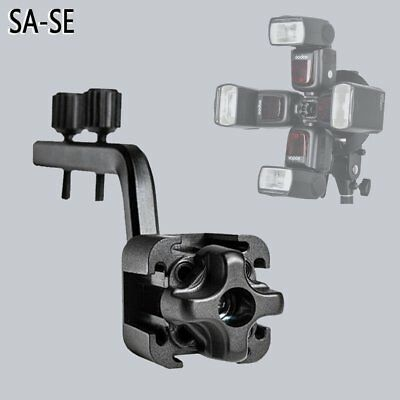 Godox S-FA Universal Four Speedlite Adapter Holder Hot Shoe Mount for Flash
