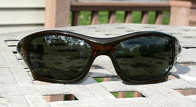 OAKLEY PIT BULL Polished Rootbeer w/ Dark Grey Lens Mens Sunglasses